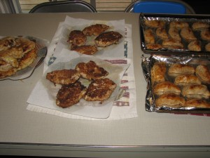 Empanadas and Chicken Fried Chicken