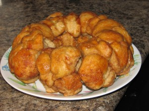 "Homemade ""monkey bread"""
